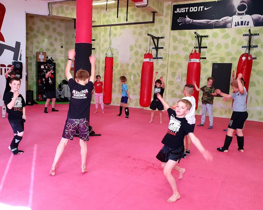 juniorský trénink