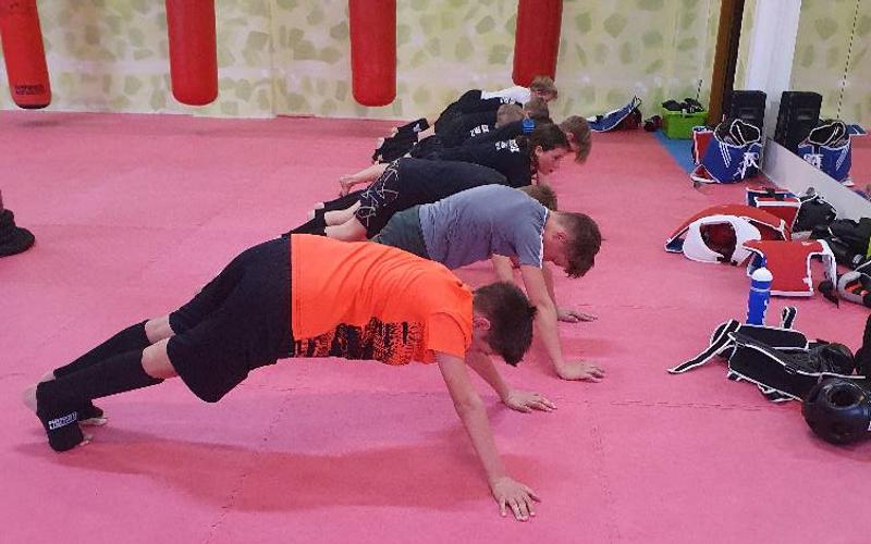 trénink juniorů